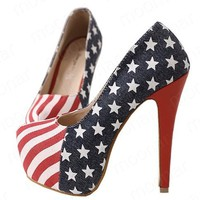 American Flag Heels  from My Sister's Closet