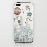 Voyages Over New York iPhone & iPod Skin | Print Shop