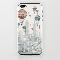 Voyages Over New York iPhone &amp; iPod Skin | Print Shop
