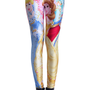 ROMWE | Disney Princesses Print Leggings, The Latest Street Fashion