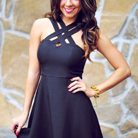 HOPE'S: Can't Get Past Me Dress: Black | Hope's