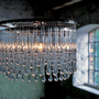 LIGHTING - Chandeliers - Light Drizzle Glass Chandelier by Ochre