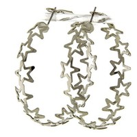 Star Paper Cutout Hoops
