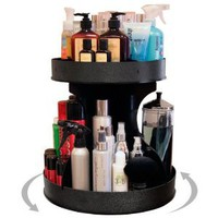 "Professional Stylists and ""Divas\"" Will Love 15\"" Wide, Spinning Cosmetic Organizer. Great for Salons or for Cosmetic Divas! Made by PPM in the USA!: Beauty"