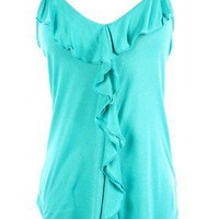 The Jade Ruffle Top - 29 N Under