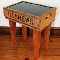 Bashew Crate Sidetable  Furniture  Recreate