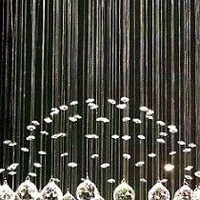 Modern Chandelier &quot;Rain Drop&quot; Chandeliers Lighting with Crystal Balls! H32&quot; X W18&quot;
