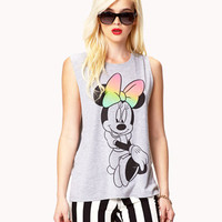 Cutout Minnie Mouse® Muscle Tee | FOREVER 21 - 2051133500