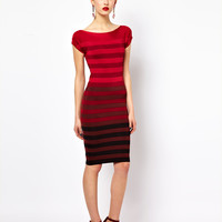 French Connection Off The Shoulder Dress at asos.com
