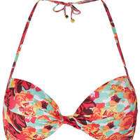 Tangerine Rose Bikini Top - Swimwear - Clothing - Topshop