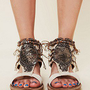 OTBT  Desert Beaded Sandal at Free People Clothing Boutique