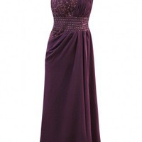 Lott in Purple Embellished Long Dress