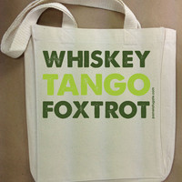 Whiskey Tango Foxtrot by PamelaFugateDesigns