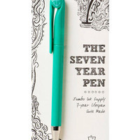 The Seven Year Pen in Turquoise