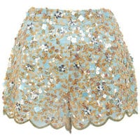 Blue Embellished Short - View All  - New In