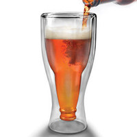 Upside Down Beer Bottle Glass - Upside Down Beer Bottle Glass - LatestBuy Australia