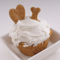 Dog CupcakesApple Cider Peanut Butter and by TrueTreatsPetBakery