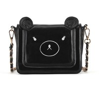 Chic Bear Head Shaped Shoulder Bag - OASAP.com