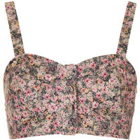 Ditsy Floral Button Bralet - New In This Week  - New In