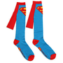 ThinkGeek :: Superman Caped Socks