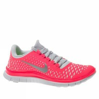Nike Lady Free 3.0 V4 Running Shoes - 10.5 - Pink: Shoes