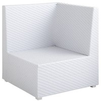 Ciudad Corner Chair - White