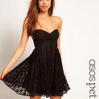 ASOS PETITE Exclusive Swing Dress In Lace