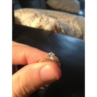 Have You Seen the Ring?: .70 ct. Engagement Ring and Wedding Band