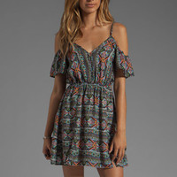 L*SPACE Tribe Cold Shoulder Dress in Multi from REVOLVEclothing.com