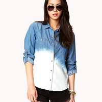 Life in Progress™ Ombré Denim Shirt