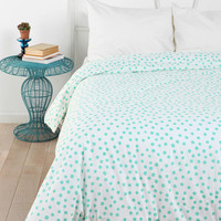Plum &amp; Bow Polka Dot Duvet Cover