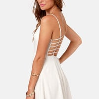 Haute Attack Ivory Dress