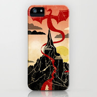 Lonely Mountain iPhone Case by Danny Haas | Society6