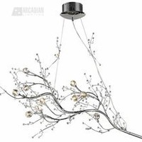 Elk Lighting 30032/10 - Viviana Modern / Contemporary Chandelier ELK-30032-10