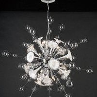 PLC Lighting 81385PC - Circus Contemporary Crystal Chandelier PLC-81385-PC
