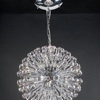 PLC Lighting 72175PC - Aspasia Contemporary Crystal Chandelier PLC-72175-PC