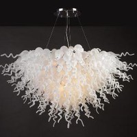 PLC Lighting 23616PC - Elixir Contemporary Crystal Chandelier PLC-23616-PC