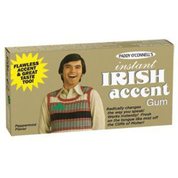 Instant Irish Accent Gum: Grocery & Gourmet Food