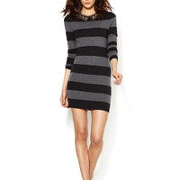 Gryphon Studded Rugby Stripe Dress