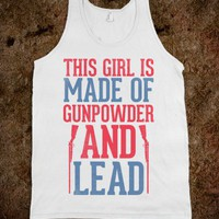 Gunpowder &amp; Lead Tank