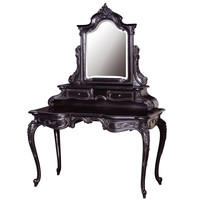 Sassy Boo Grande Black Dressing Table