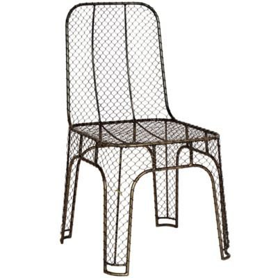 Steel Wire Chair in  Home Shop Furniture Dining at Terrain