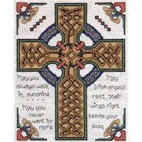 Tobin-Celtic Cross Counted Cross Stitch Kit-8 X10  14 Count & counted cross stitch kits at Joann.com