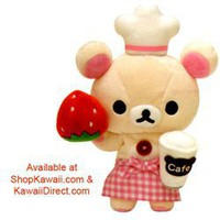 San-x Rillakuma Cafe Relax Bear 6 Plush: Little Bear