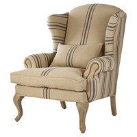 One Kings Lane - The Fine Print - Summerhurst Wingback Chair