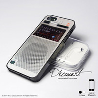 Vintage radio iPhone 5 case, iPhone 5 cover, case for iPhone 5, S445