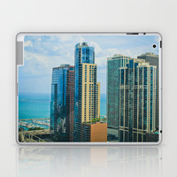 Summer in Chicago Laptop & iPad Skin by Trinity Bennett