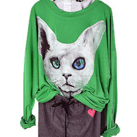 Cat Candy Color T-Shirt from TheFunKiss