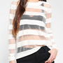 Sparkle & Fade Floating Stripe Sweater