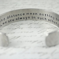 Time and Distance Mean Nothing Between Sisters by BerkeyDesigns